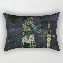 Paladin in Lakeland Rectangular Pillow
