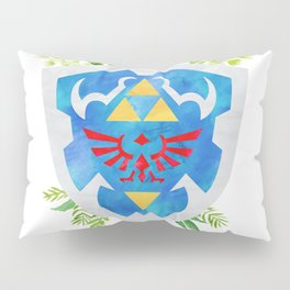 One Shield to Hyrule Them All Pillow Sham