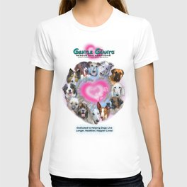 Gentle Giants Rescue and Adoptions T-shirt