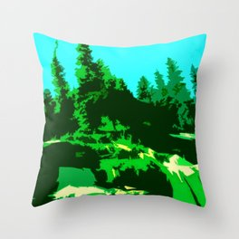 pines Throw Pillow