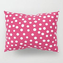 Polka Dots Universe Pillow Sham