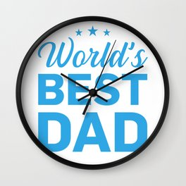 Papa Papi family love man gift Father's Day Wall Clock