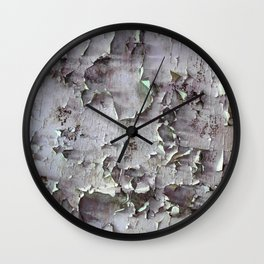 Ancient ceilings textures 132a Wall Clock
