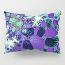Leafy Nosegay Fractal Pillow Sham