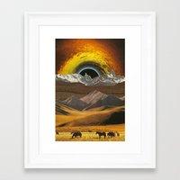 horses Framed Art Prints featuring Horses by Steven Quinn