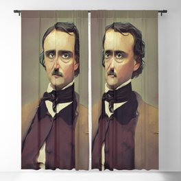 Edgar Allan Poe, Literary Legend Blackout Curtain