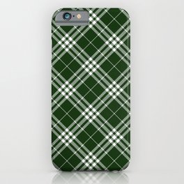 Holiday Plaid 7 iPhone Case