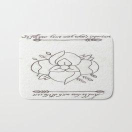 La Dispute Logo Tattoo Bath Mat