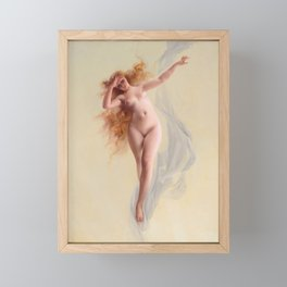 "Luis Ricardo Falero ""Dawn"" Framed Mini Art Print"
