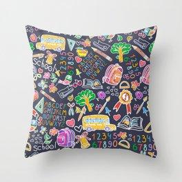 School teacher #9 Throw Pillow