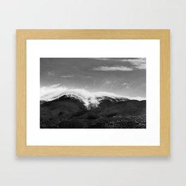 CLOUD WRAP Framed Art Print