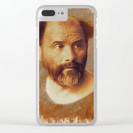 Gustav Klimt, Artist Clear iPhone Case