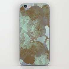 Cambridge Blue Floral Hues iPhone & iPod Skin