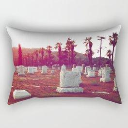 The death of California Rectangular Pillow