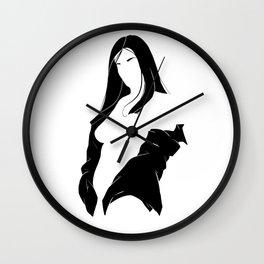 WOMAN 54 Wall Clock
