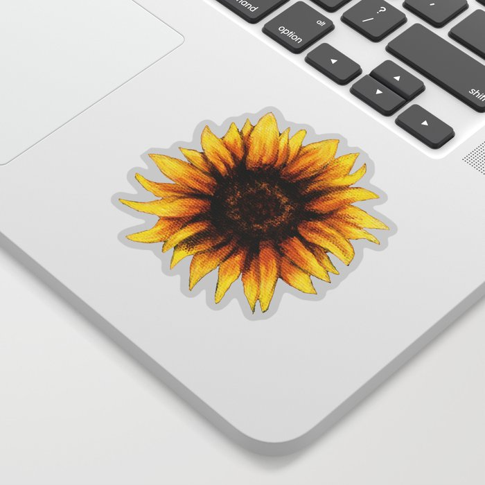 295d53117 Sunflower Sticker by naomishingler | Society6