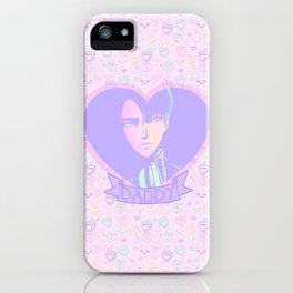Captain Daddy iPhone Case