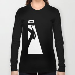 The Visitor Silhouette Long Sleeve T-shirt