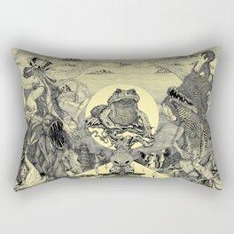 Toad Licking  Rectangular Pillow
