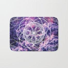 Symmetry in Purple Bath Mat