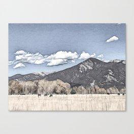 Taos, New Mexico USA Canvas Print