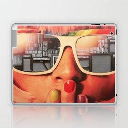Retro Girl Laptop & iPad Skin