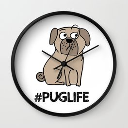 PugLife Wall Clock