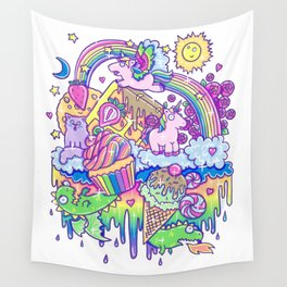 Kawaii Drip Wall Tapestry