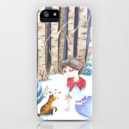 Let it Snow iPhone Case
