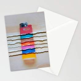 Torn Lighters Stationery Cards