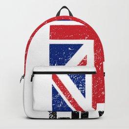 Hull Design Print Backpack