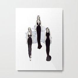 Fashionary 2 Metal Print