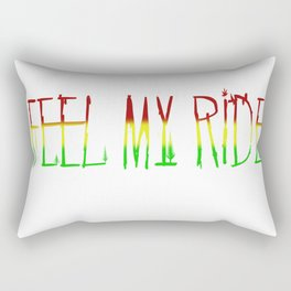 Feel My Ride Rectangular Pillow