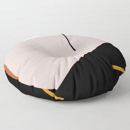 abstract minimal 28 Floor Pillow