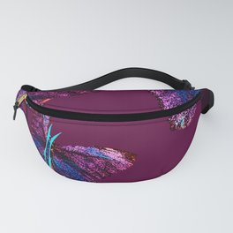 Purple butterflies full of beauty #decor #society6 Fanny Pack