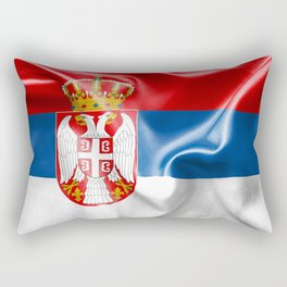 Serbia Flag Rectangular Pillow