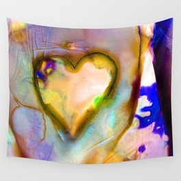 Heart Dreams 4J by Kathy Morton Stanion Wall Tapestry
