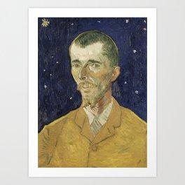 Eugene Boch by Vincent van Gogh Art Print