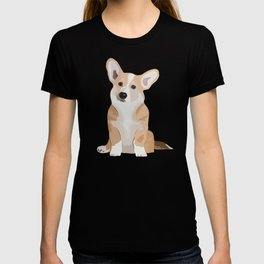 Corgi Waiting T-shirt