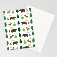 The Essential Patterns of Childhood - Forest Stationery Cards