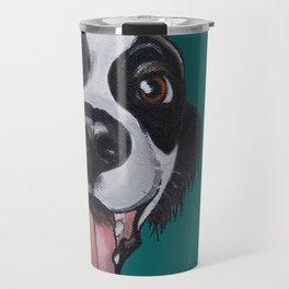 Maeby the border collie mix Travel Mug