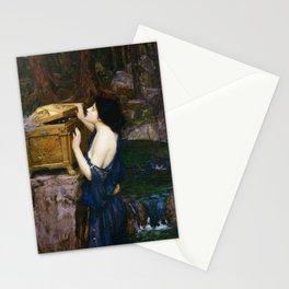 PANDORAS BOX - JOHN WILLIAM WATERHOUSE  Stationery Cards