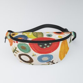 Bling fruits rustic doré gold delicious sunset Fanny Pack