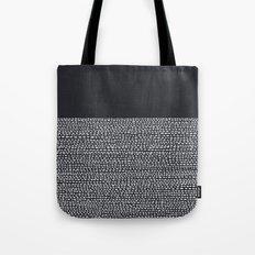 Riverside (Black) Tote Bag