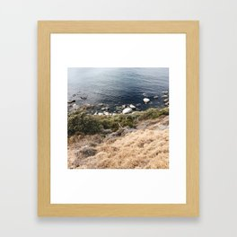 Cape Coast Peninsula Framed Art Print