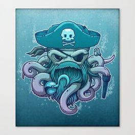 The Legendary Arrrctopus Canvas Print