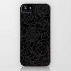 Cluster of Black Roses Slim Case iPhone (5, 5s)