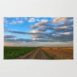 Farm Landscape Rug