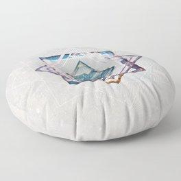 Refreshing heat Floor Pillow