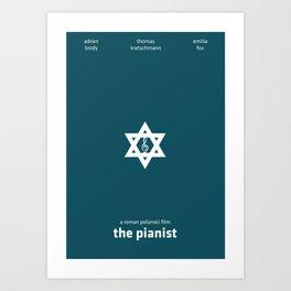The Pianist Minimal Poster Art Print